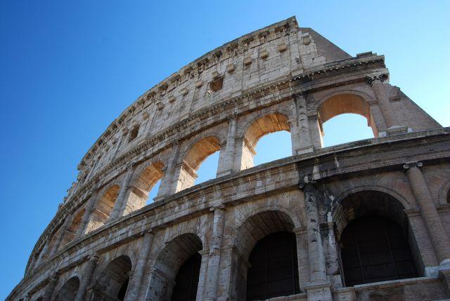 Coloseum Exterior Close Up