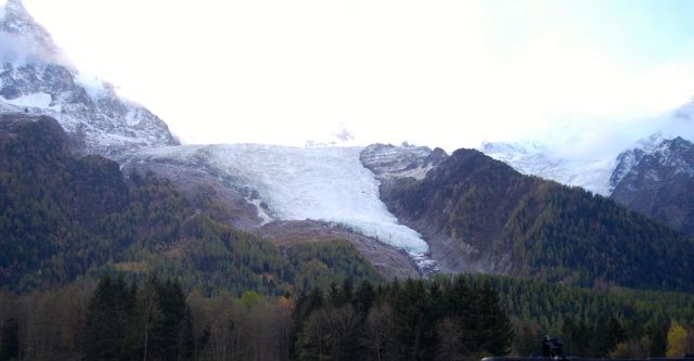 Mt. Blanc Glacier from the French Side