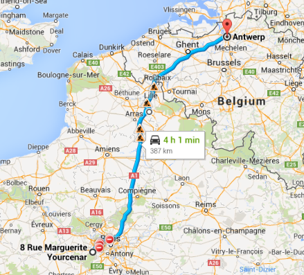Montigny to Antwerp