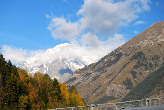 Mt. Blanc from the Italian side