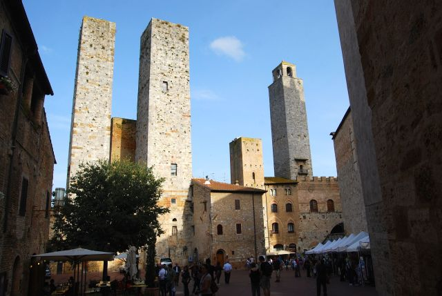 San Giminagno - Originally there were 72 tower-today only 14 remain