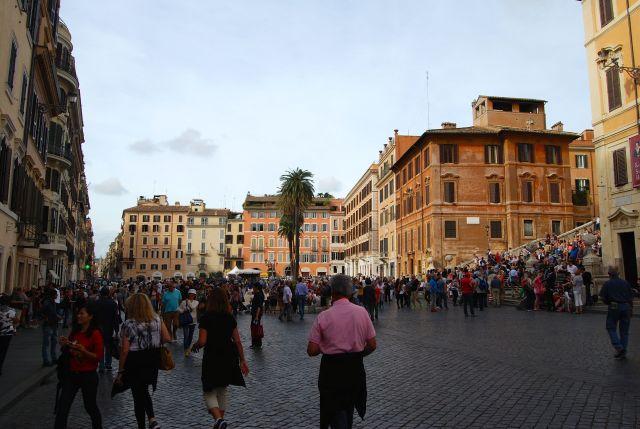 Piazza di Spagna,