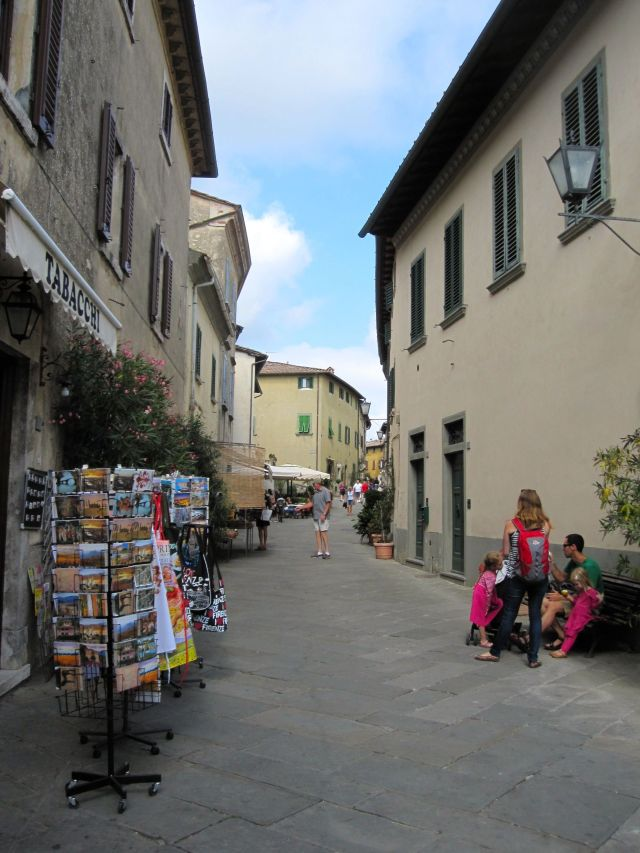 Shopping Street in Castellina