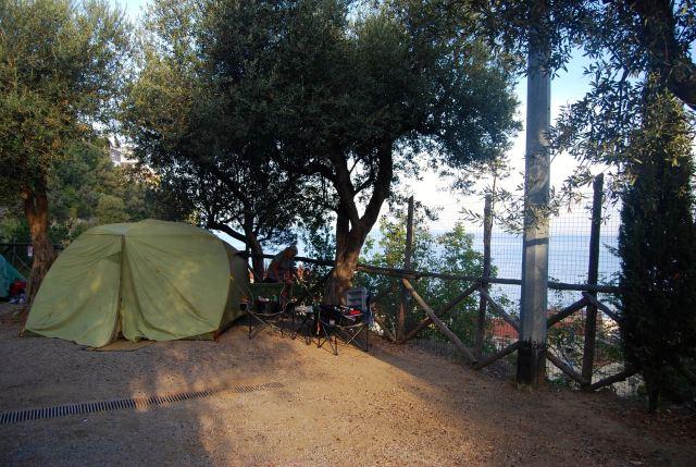 Campsite at Nube d'Argento