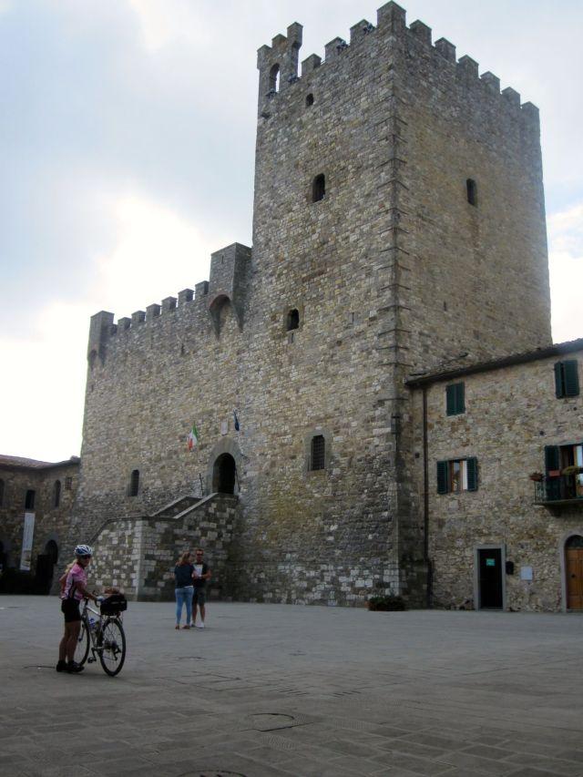 The Rocca in Castelina