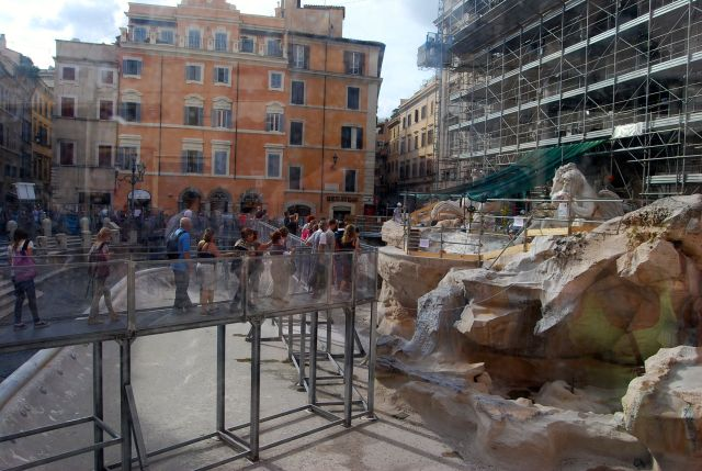 The Trevi Fountain (Under Repair)