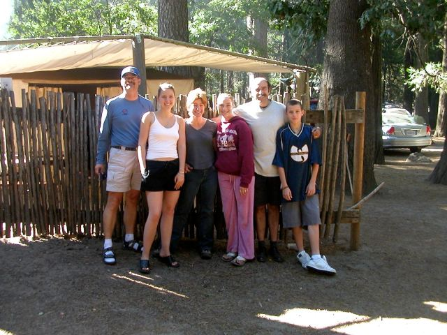 Francois and Family with us in Yosemite circa 2003