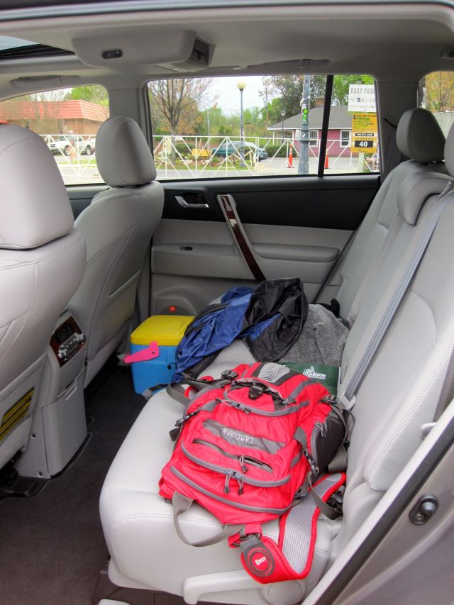 Highlander's Rear Passenger Seats