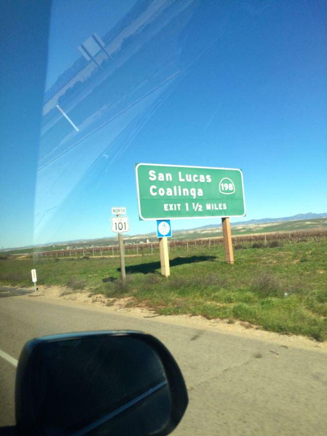 Highway 101 Heading North