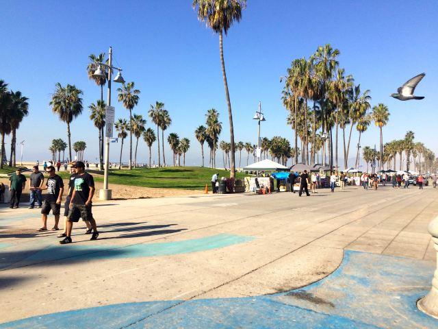 Venice Beach Pre Christmas