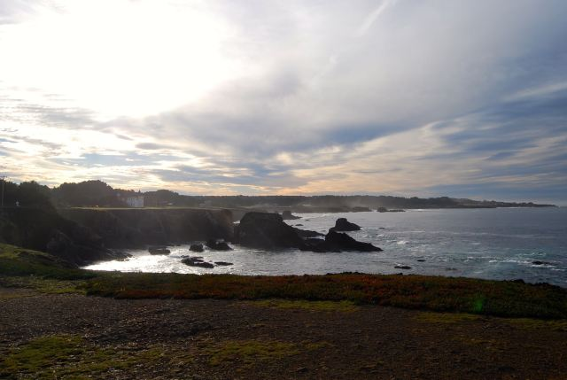 Cliff Side at Fort Bragg