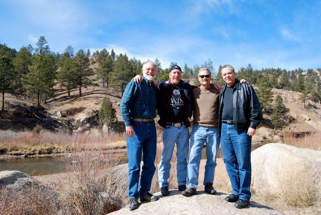 Evan, Doug, Jerry and J.B. - Denver 2009