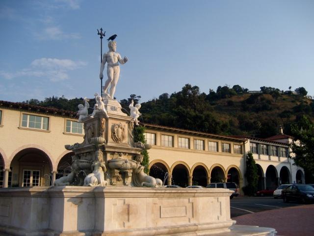 Neptune's Fountain at Malaga Cover
