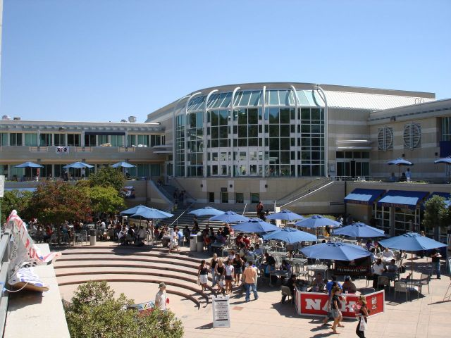 The Price Center (Student Union) at UCSD