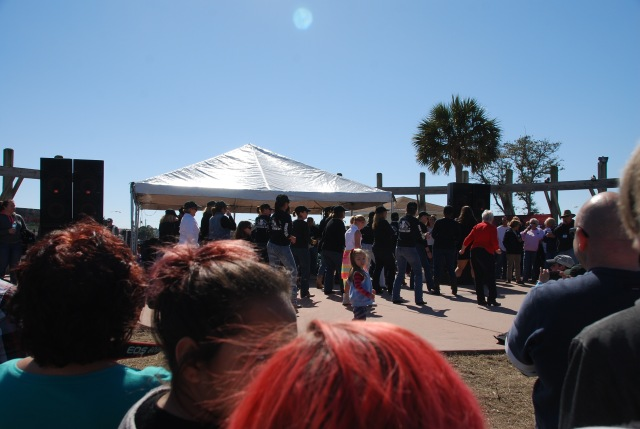 Dancing at the BBQ Fest