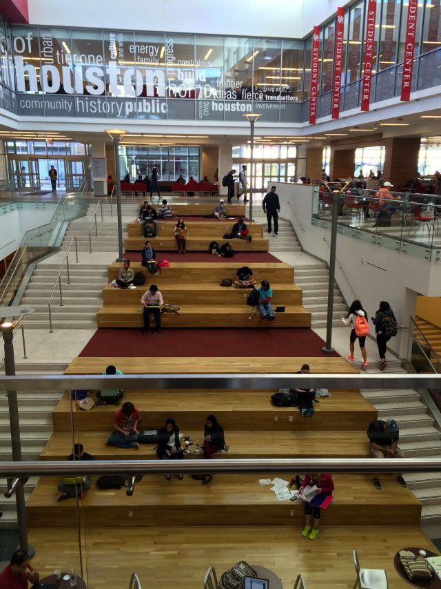 Atrium of the Student Center