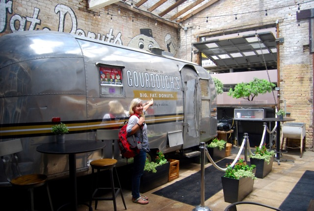 The Airstream at Gourdough's