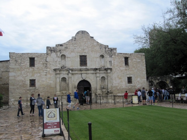 The Church at the Alamo