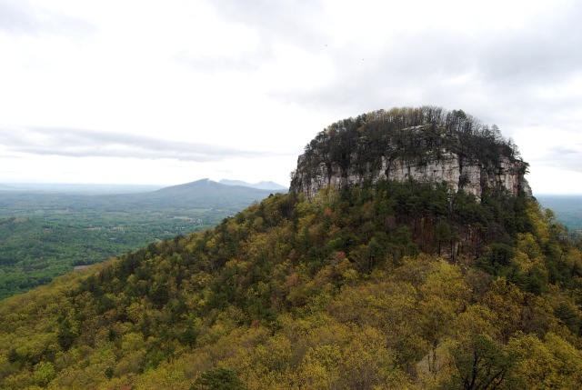From the Summit at Pilot Mountain