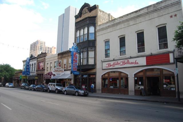 Sixth Street Music Venues