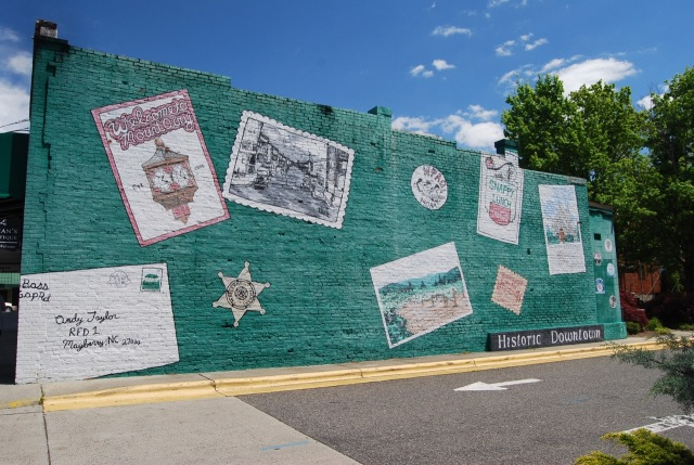 Wall in Mt. Airy