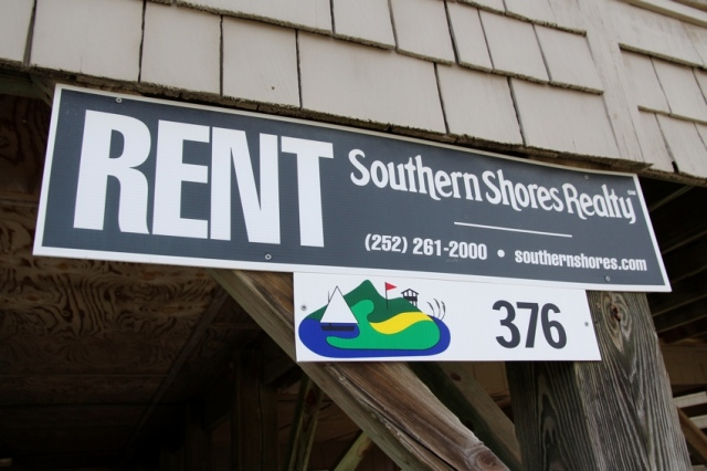 One of many rental signs