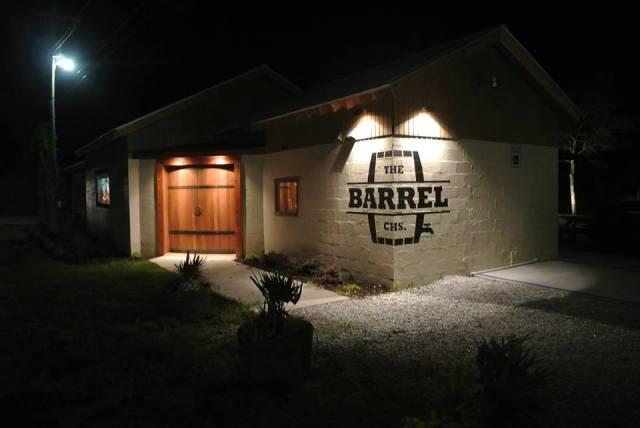The Barrel at Night