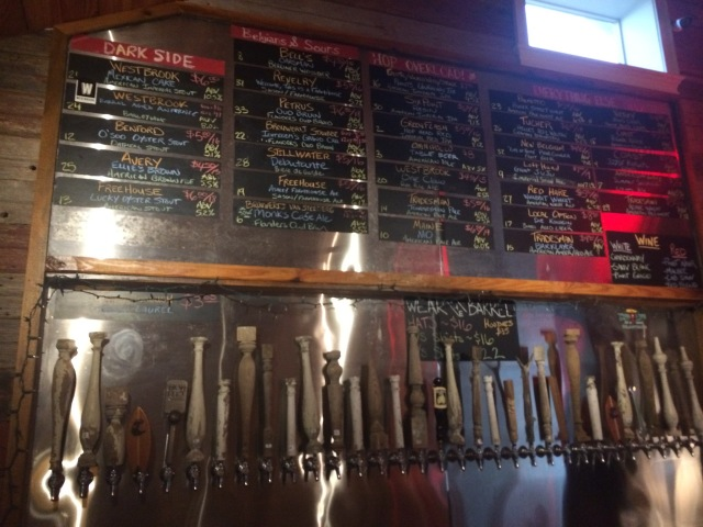 The Taps at the Barrel