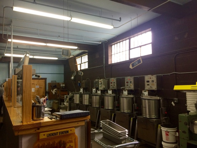 Inside the Factory at French Broad Chocolate