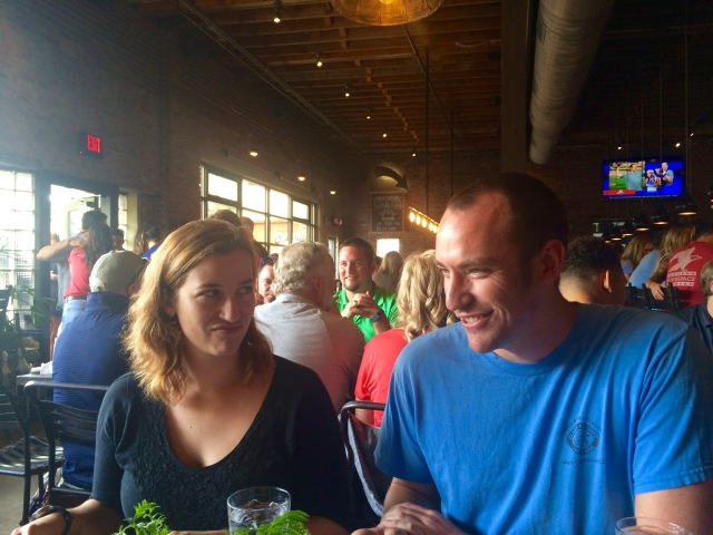 Jessica and Kris at Wicked Weed