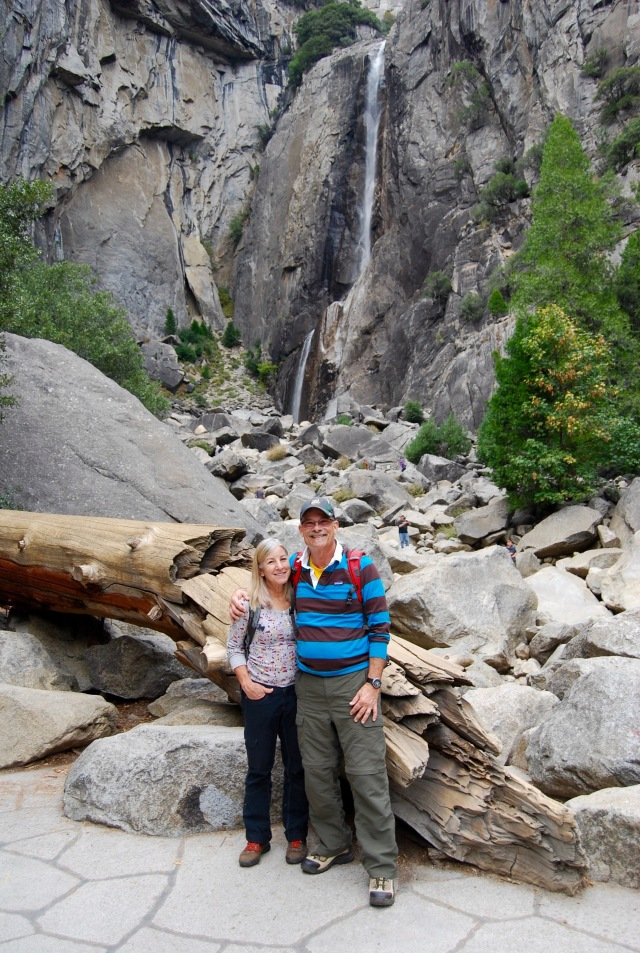 J and J at Yosemite Falls