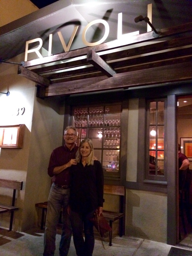 J and J Outside of Rivoli