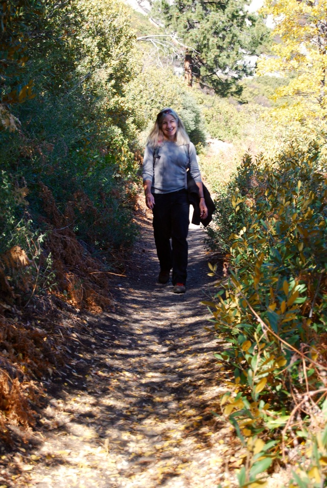 Joanna on the Trail