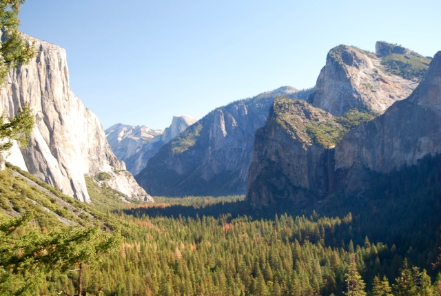 Yosemite Valley from the Tunnel