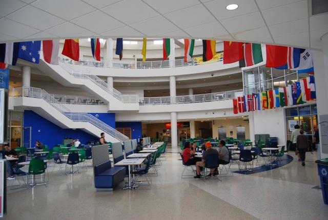 Rotunda of the Student Union
