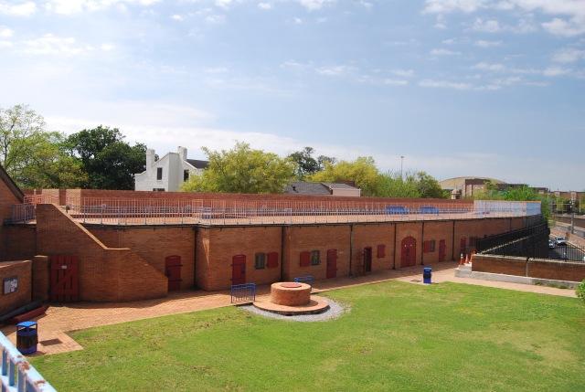 Fort Conde Interior