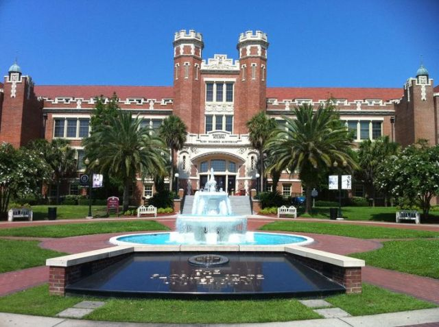 FSU Campus Fountain