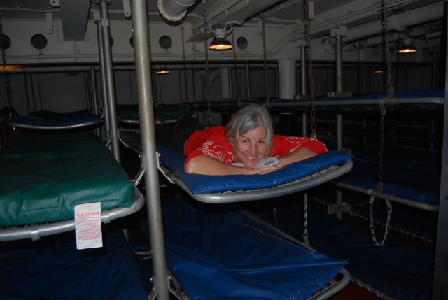 Girl in a Bunk