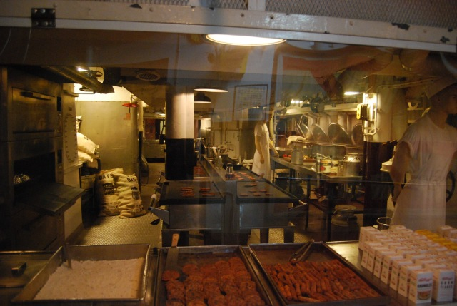 One of the Enlisted Kitchens