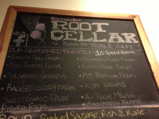 Root Cellar Specials