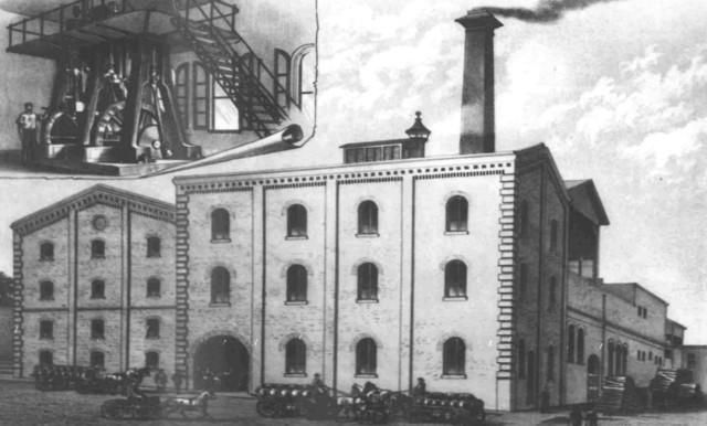 Henry Weinhard's Brewery - 1888