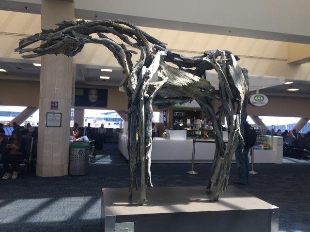 Horse Statue at SFO