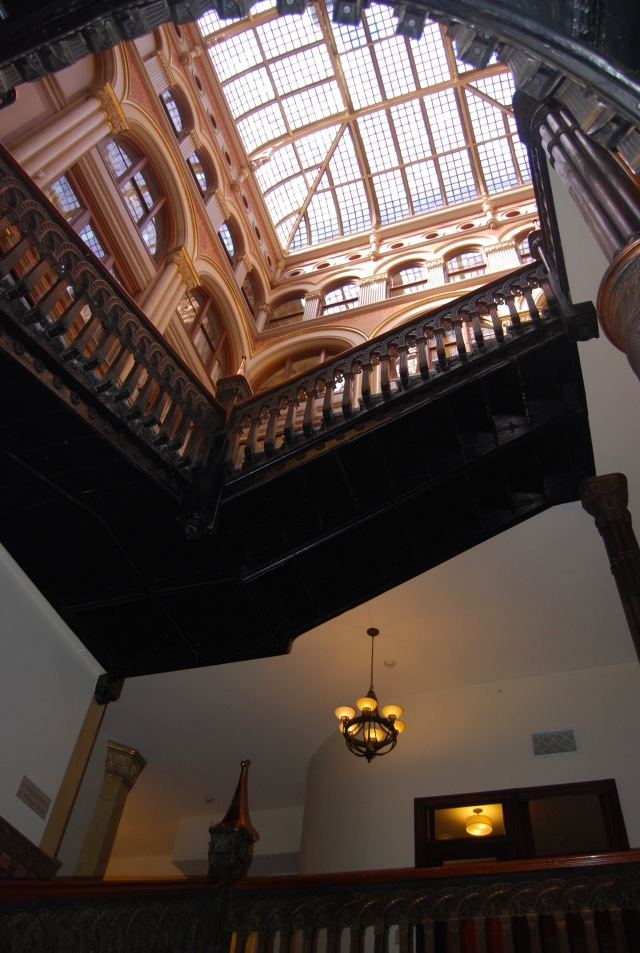 Stairwell and Skylight