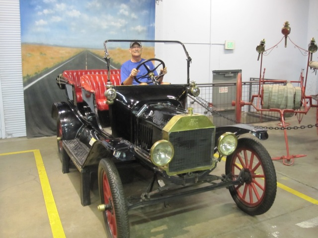 At the Wheel of a Model T