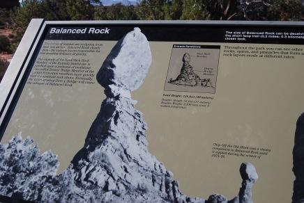 Balanced Rock Sign