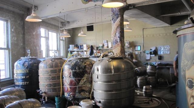 Brewery at the Crystal Palace