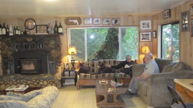 Main Room at the Lodge