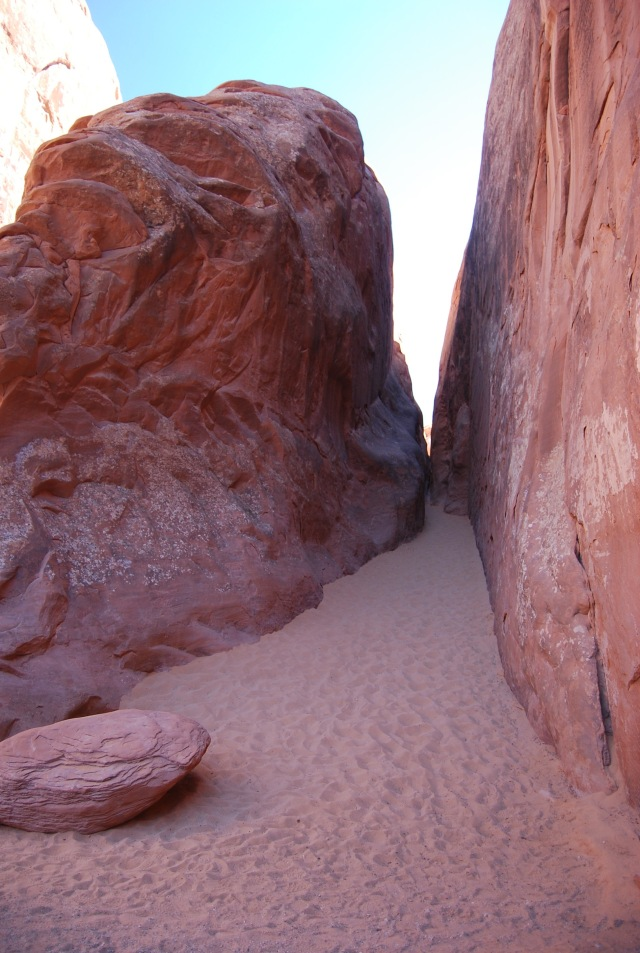Red Rocks and Sand