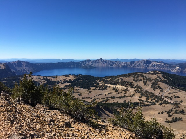 Crater Lake from the Top