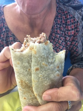 A Carnitas Burrito